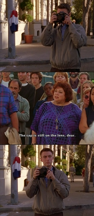 haha such a Kirk moment :) love me some gilmore girls!