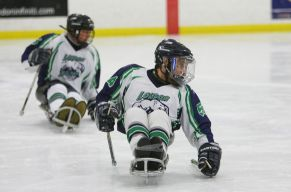 London Blizzard Sledge Hockey