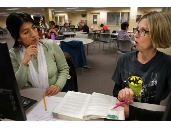 When it's time to cram, Riverside City College's writing center aims to help  Its Writing Cram Jam sessions offer offers last-minute assistance on crafting essays and projects leading to finals week.