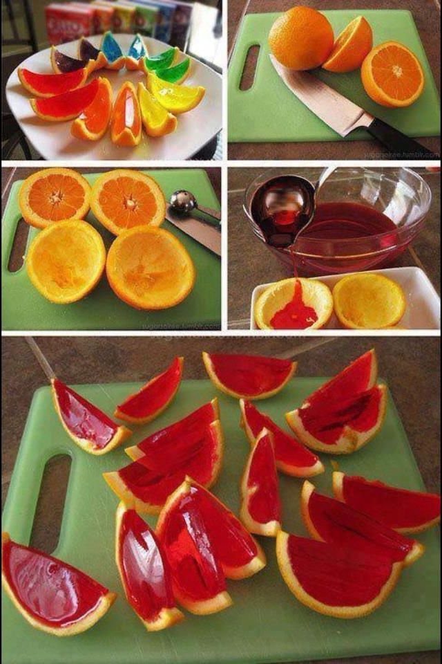 Great St. Patrick's Day fun | Great idea! Food craft, colorful st. Patrick's day, orange