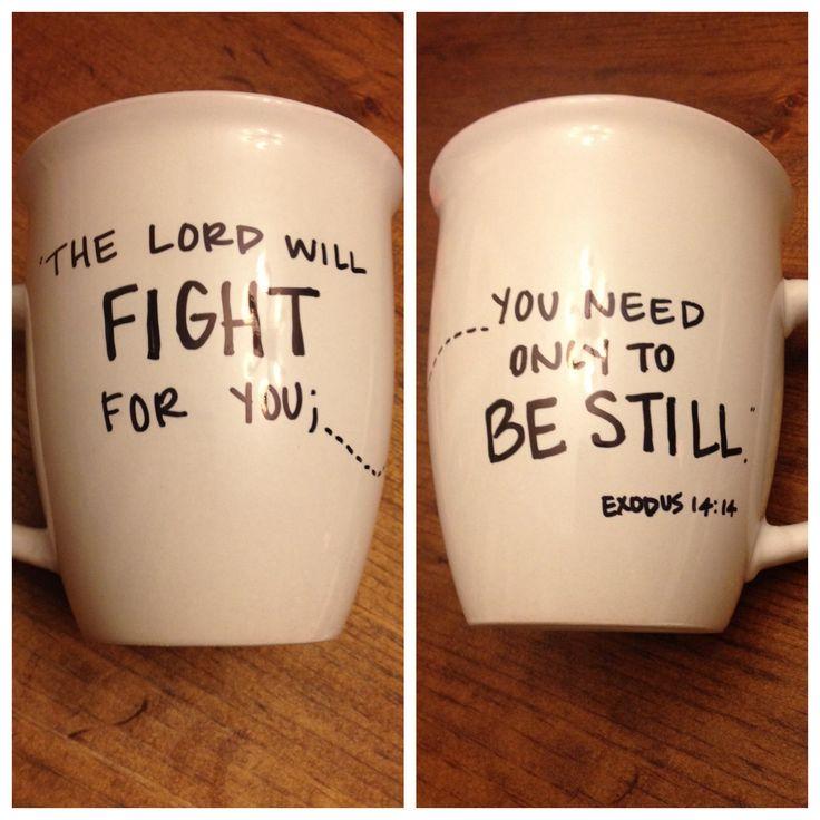 Sharpie on Coffee Mug craft!