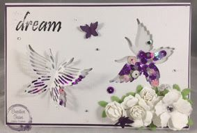 Artdeco Creations Brands: Dream Shaker Card by Tracey Cooley