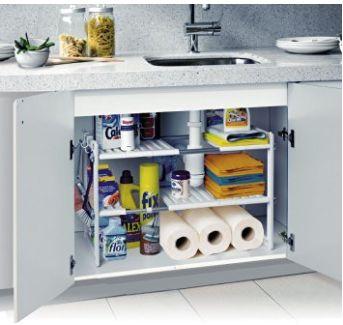 Productos prácticos: estantería modular para interior de armarios y muebles