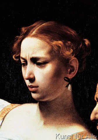 Michelangelo Merisi Caravaggio - Judith enthauptet Holofernes