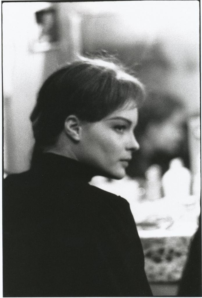 "Romy Schneider  by Giancarlo Botti in Theatre de Paris, 1961 Nina Zaretchnaïa -- ""La mouette"" / ""Чайка"" de Tchekhov Нина Заречная - ""Чайка"" Чехов"