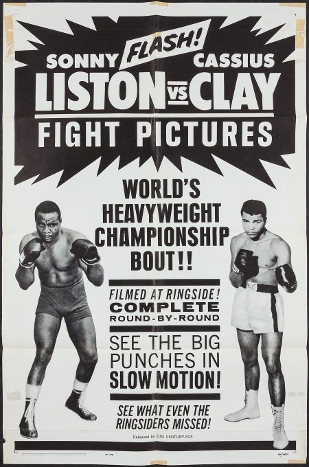 Sonny Liston vs. Cassius Clay / World's Heavyweight Championship Bout (May 25, 1965)