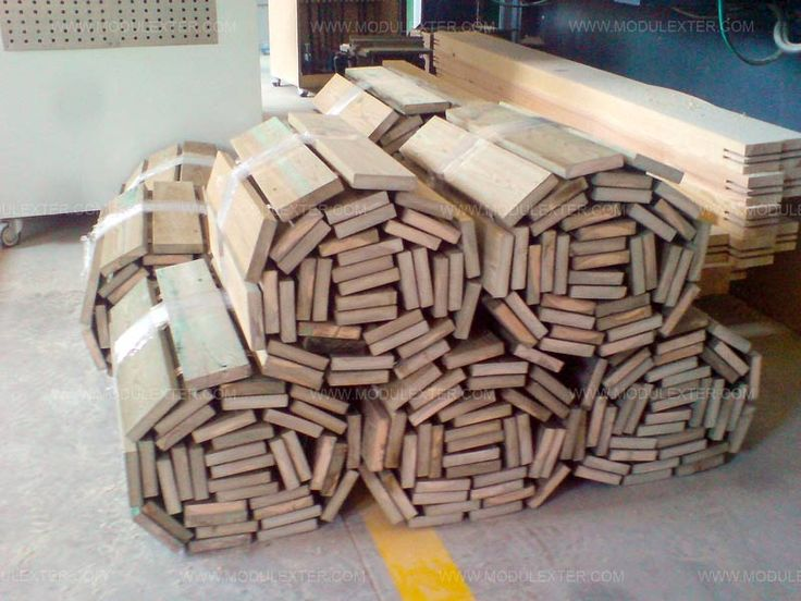 Pasarela de madera enrollable Vista 1