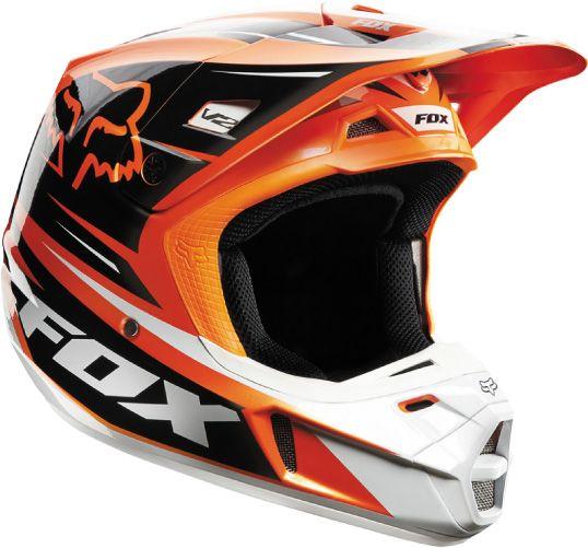 Fox - 2014 V2 Race Helmet- Orange · Motocross HelmetsRacing ...
