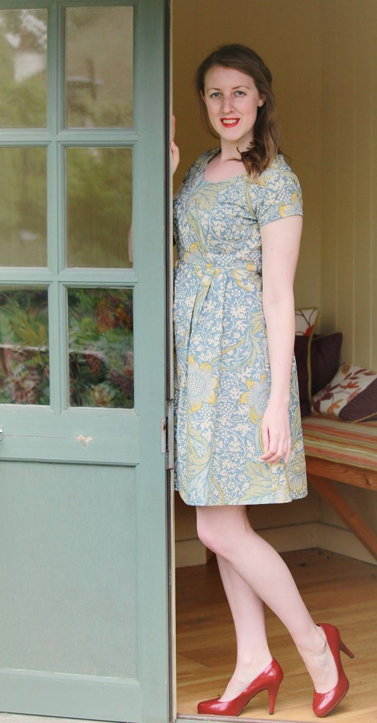 Lisette 1419, modelled by Alice for whom it was made and photographed by Emily of thatemily.