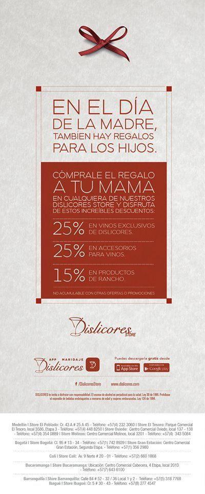 #sale #mom #day #diadelamadre Dia Dislicores Local 201D