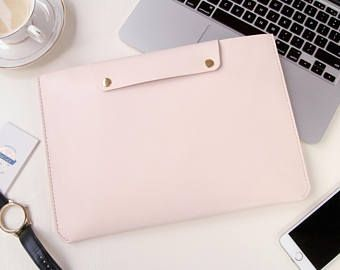 Personalized Leather Macbook Pro 13 inch Touch Bar Case Leather Macbook Pro Case 13 Macbook Pro 13 Sleeve 2017 Macbook 13 Pro Retina Case
