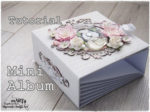 Marta Lapkowska: Mini Album Tutorial by Marta Lapkowska