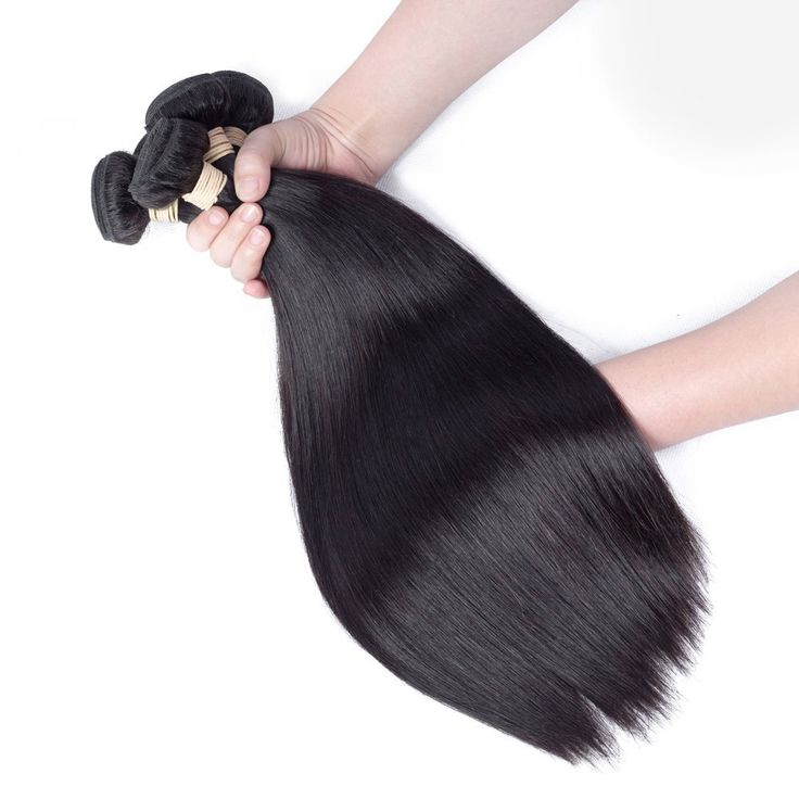 Allrun Brazilian Straight Hair 3 Bundles Grade 7A Unprocessed Virgin Human Hair Weave Extensions Natural Color Length (14 16 18inch) -- Read more at the image link. #hairenvy