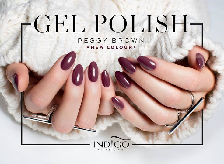 Peggy Brown #nails #nail #indigo #red #indigonails #hot #sexy #newyearnails