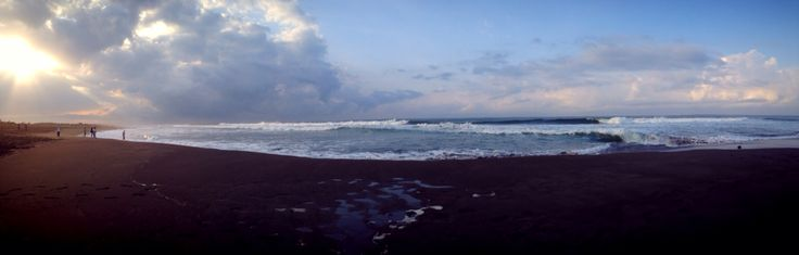 Sun rise at Ketawang Beach, Indonesia