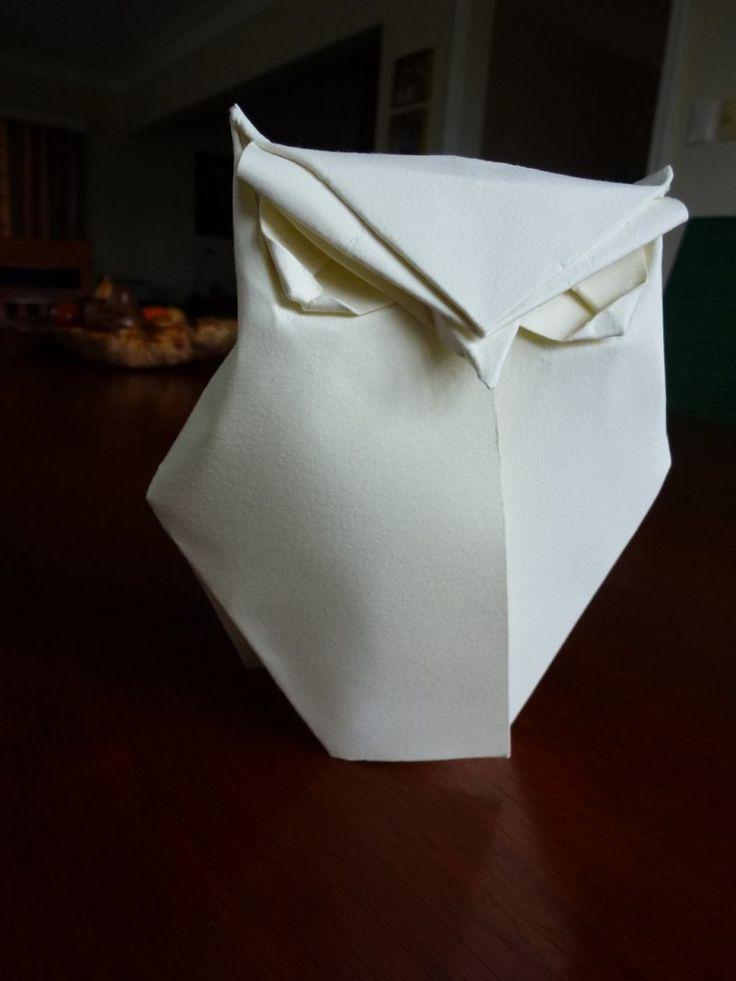 owl origami tutorial