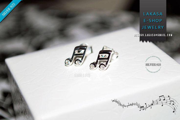 Music Notes Symbols Studs Earrings Sterling Silver Jewelry Cubic Zirconia Crystals Best Gift Woman Girl Unisex Musiclovers Jazz Piano Violin #music #notes #symbol #cubic #zirconia #crystals #lovely #studs #earrings #sterling #silver #kids #woman #girl #for #her #gift #jewelry #σκουλαρικια #κρυσταλους #ζιργκον #γυναικα #παιδι #κοριτσι #παιδικο #μωρο #δωρο #ασημενια #κοσμηματα #μουσικη #νοτες #πιανο #βιολι #κιθαρα #αρμονια #lakasaeshop
