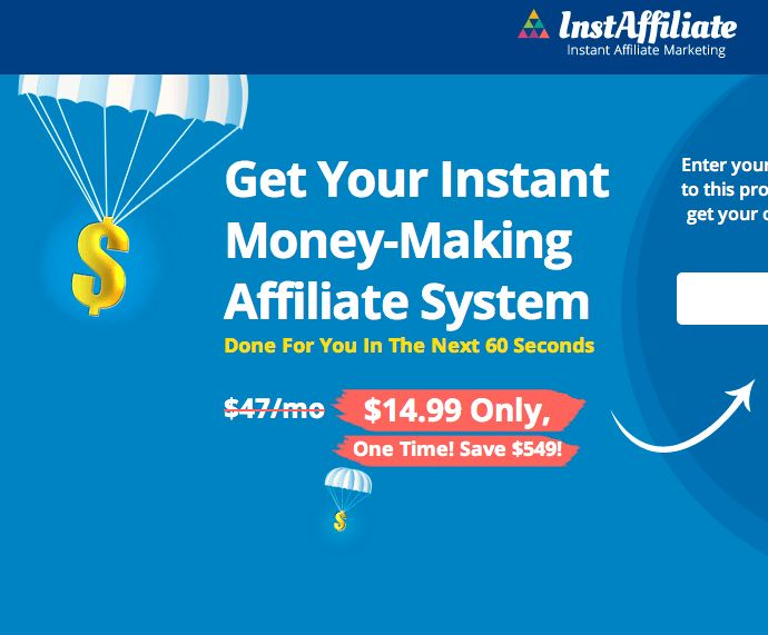 InstAffiliate Review  Strongest Platform To Enter One Of The Fastest Growing Niche With Completely Done-For-You Internet Business In A Box