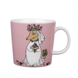 Arabia Moomin Mug: Fuzzy