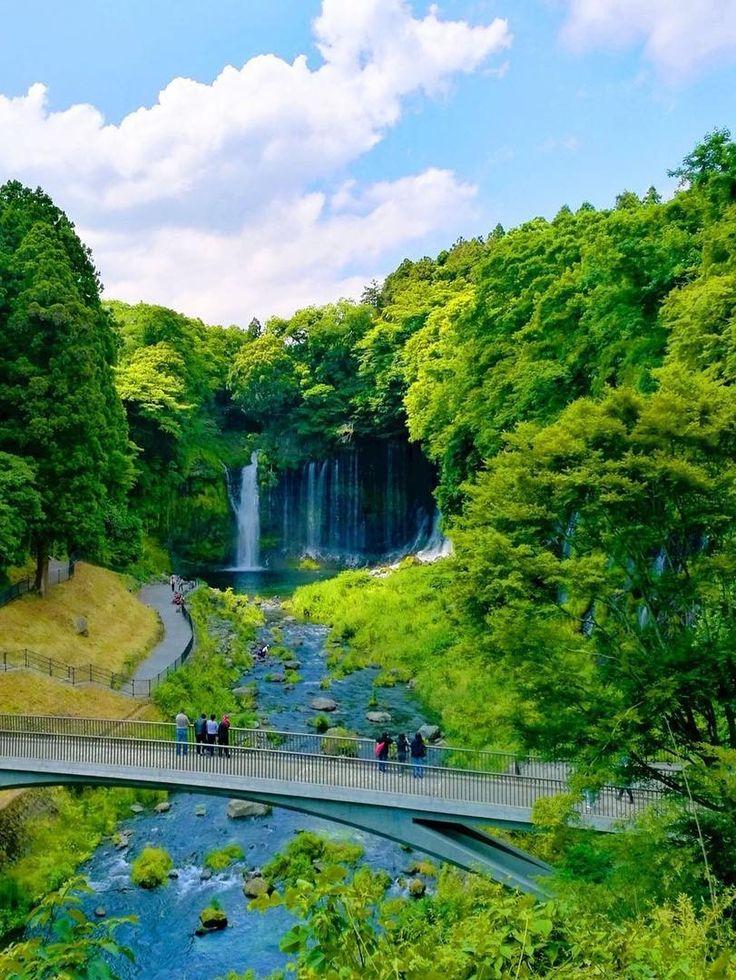 Shiraito Falls, Fujinomiya, Shizuoka, Japan, 白糸の滝, 富士宮, 静岡, 日本, worldheritage