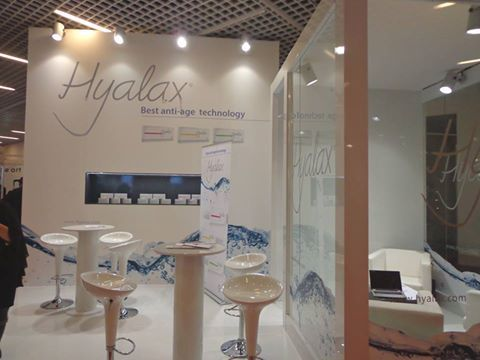 Η εταιρεία HYALAX στο 13ο παγκόσμιο συνεδριο Αντιγήρανσης στο Μοντε Καρλο AMWC παρουσίασε τις ιατρικές εφαρμογές υαλουρονικού οξέος για την πλήρωση ρυτίδων που αποκλειστικά εφαρμόζονται στα Dna Centers . Οι συνεργάτες των Dna Centers παρακολούθησαν τις ομιλίες του συνεδρίου  http://www.dnacenters.gr/site/formes/landing-hyalax.html