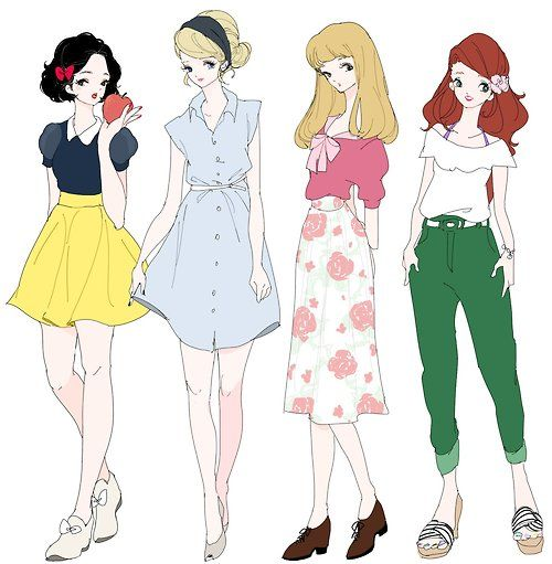 Disney Princess Modern Day Look | Disney's Got Fashion ...