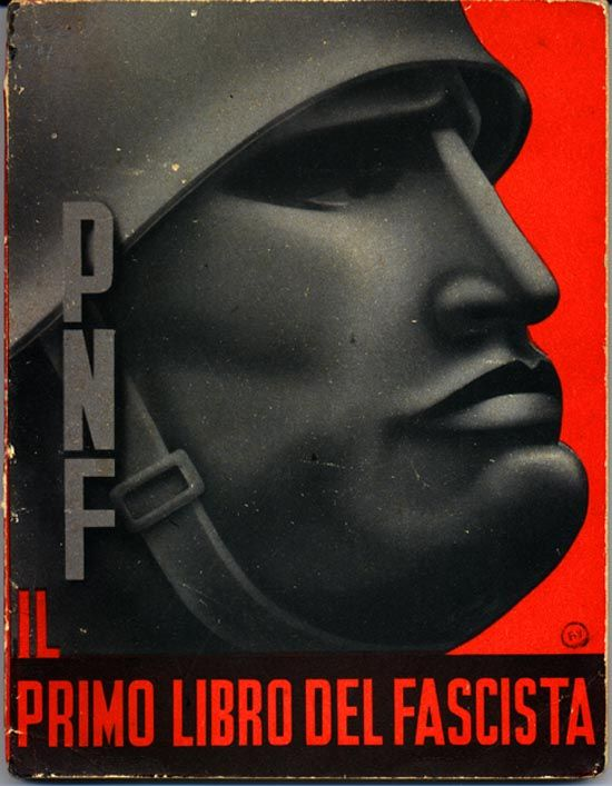 """As the intro, """"the first book of Fascism is a manual accessible to all to make known our Revolution, the Party, the Regime, and Mussolini's State."""" A short and concise history of Fascism is followed by questions and answers about the Duce, the Fascist revolution, the party, the army, the corporate state, and the defense of Italian purity."""