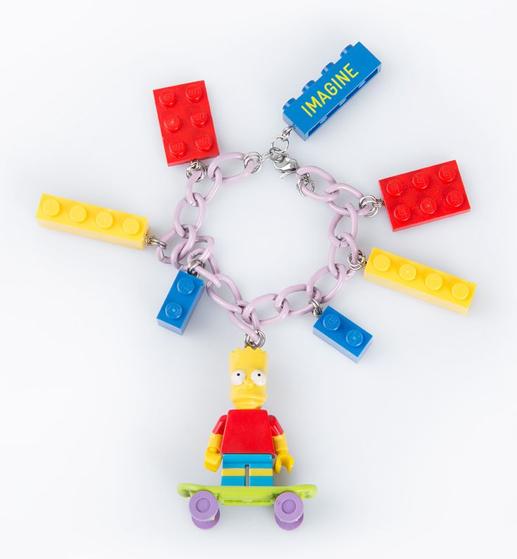Bracelet Bart Simpson by Imagine Indonesia. Have you ever wonder to be a part of Simpson family? Wear this bracelet and you will feel Bart from Simpson's family. http://www.zocko.com/z/JKFcu