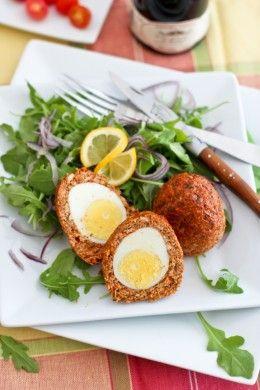 Chicken Scotch Eggs - Easter Brunch Ideas