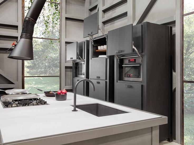 colonna cucina componibile con elettrodomestici colonnina min collezione objects by minacciolo design r