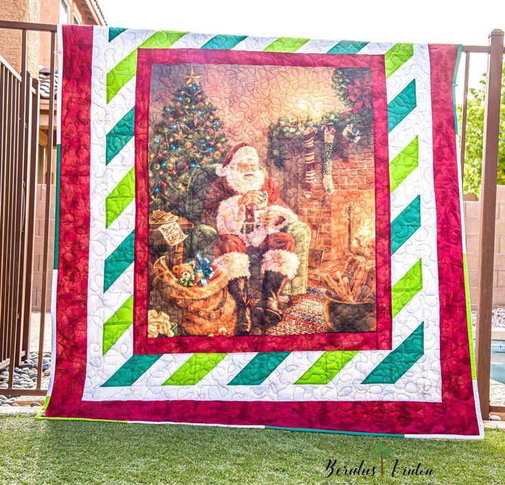 A Classic Christmas Panel Quilt Riley Blake Designs