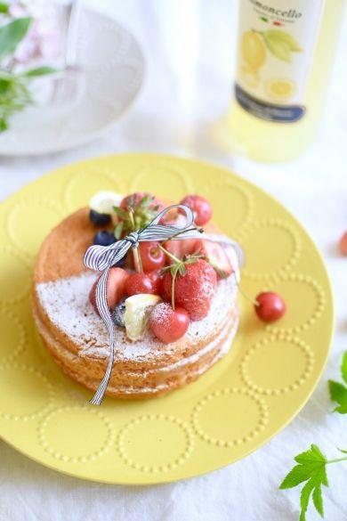 「グルテンフリーのレモンレイヤーケーキ」nao_cafe_ | お菓子・パンのレシピや作り方【corecle*コレクル】