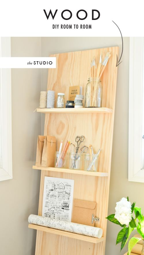 DIY Room to room: Wood Holder~ Books, magazines, pictures, jewelry display!  HANDY MULTI USE! Great to fill in a spot, and takes up so little space!