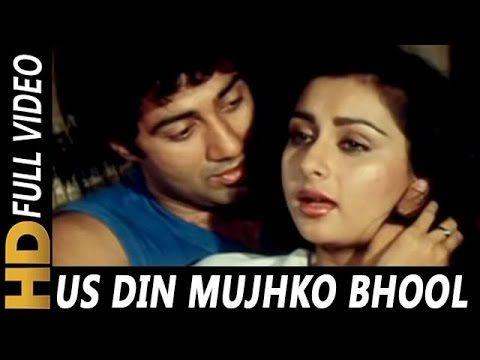 Us Din Mujhko Bhool Na Jana | Kishore Kumar, Lata Mangeshkar| Samundar 1986 Songs | Sunny Deol - YouTube