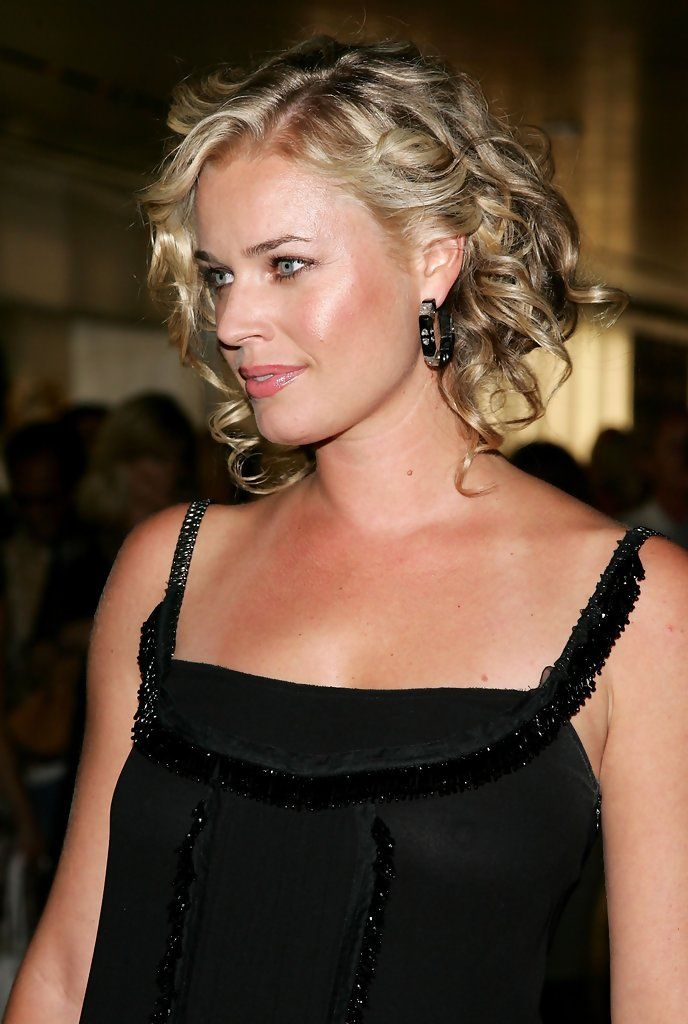 The Genteel perfection of Rebecca Romijn ...Ritzy Hairstyles...