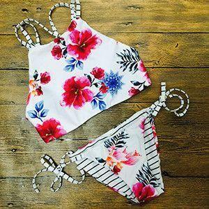 Bandage Bikinis Mermaid Shell Bikini Top bandeau Swimwear