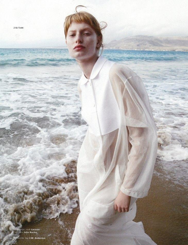 Steph Hall – EDITORIAL – TANK Magazine  Photography Ilaria Orsini, Styling Sara Gilmour