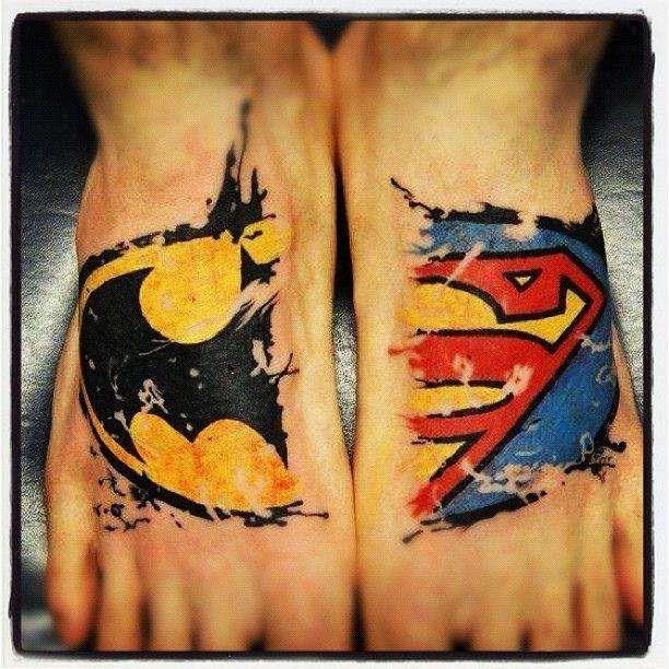 Best DC Comics Tattoos | List of the Coolest DC Comics Tattoos (Page 7)