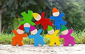 Selecta Spielzeug 1701 - Zwergenstapel, Sonstiges Kleinkindspielzeug: Amazon.de: Spielzeug