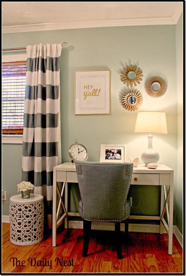 Best 25+ Mint office ideas on Pinterest   Green study ...