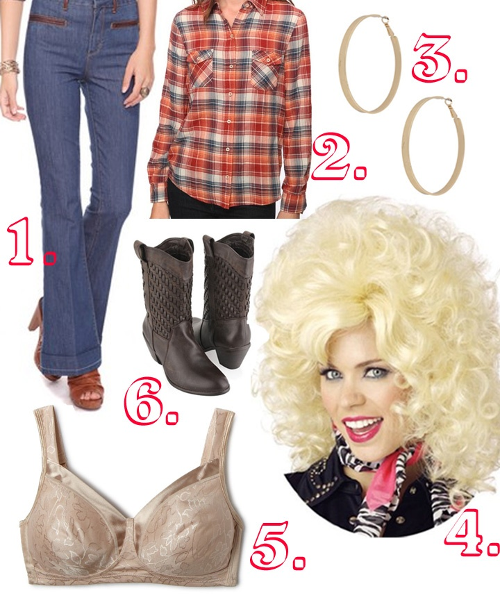 Mint Demode: Six Weeks of Halloween Costumes #3: Dolly Parton