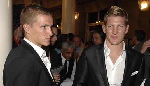 Tobi Schweinsteiger. Yup. Control your ovaries. Basti has a brother!