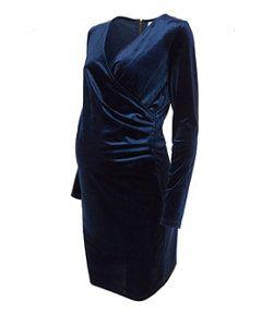 Mamalicious Maternity Long Sleeve Blue Velvet Nursing Dress http://www.parentideal.co.uk/mothercare---maternity-dresses.html