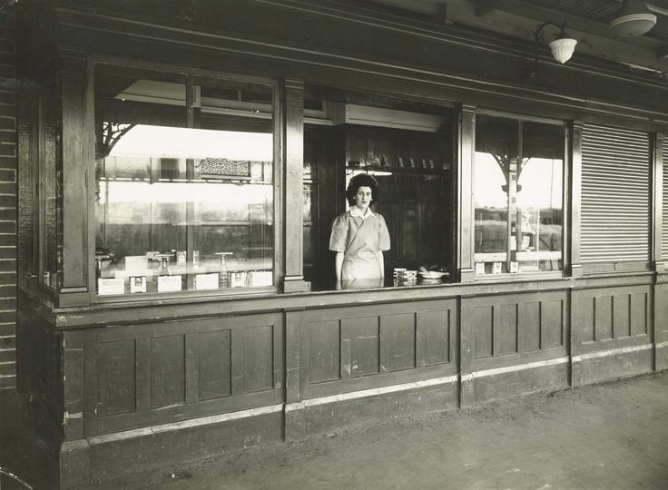 https://flic.kr/p/FwzdyV   Cootamundra Railway Refreshment Room - kiosk on the platform   Title: Cootamundra Railway Refreshment Room - kiosk on the platform Dated: 23/09/1948  Digital ID: 17420_a014_a014000050 Series: NRS 17420 State Rail Authority Archives Photographic Reference Print Collection Rights: No known copyright restrictions  www.records.nsw.gov.au/about-us/rights-and-permissions  We'd love to hear from you if you use our photos/documents.  Many other photos in our collection…