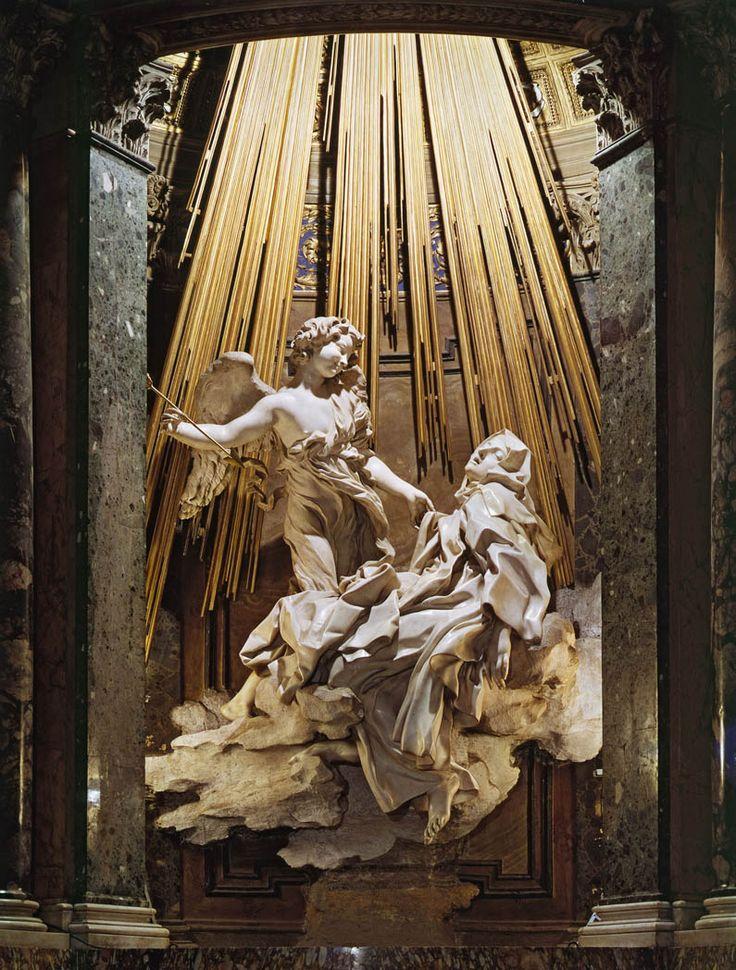 The Ecstasy of St  TeresaBernini St Teresa Painting