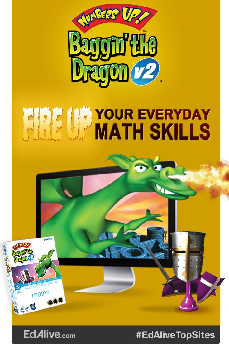 Hone your maths skills to conquer the fiery fiend! Master the maths of everyday living and outwit your competitors in this exciting single and multiplayer game! With powerful diagnostic and reporting capabilities, this curriculum-rich board game adventure will zero in on your child's learning needs. They will master shape, space, measure, data and algebra skills. #Mathematics #EdaliveTopSites