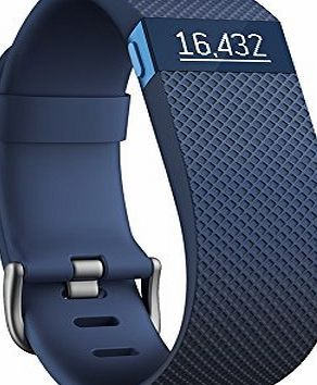 Fitbit Charge HR Heart Rate and Activity Wristband - Blue, Large Take control of your goals by using Charge HR to record your workouts and track all-day activity like heart rate, steps, distance, calories burned, floors climbed and act (Barcode EAN = 0810351022978) http://www.comparestoreprices.co.uk/december-2016-week-1/fitbit-charge-hr-heart-rate-and-activity-wristband--blue-large.asp