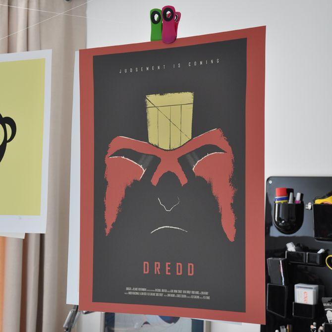 Judge Dredd Movie Poster - excites - the Portfolio of Simon C. Page