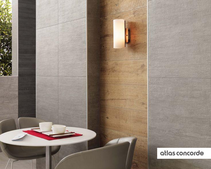 #MARK chrome | #Axi | #Floor design | #AtlasConcorde | #Tiles | #Ceramic | #PorcelainTiles