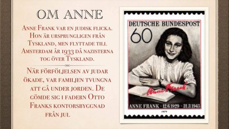 Grej of the day - Anne Frank, Molly